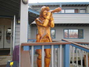 Porch Viewer from Lands End in Homer Alaska