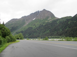 Scenery Along the Sterling Highway