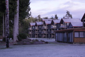 "Tin Vis Lodge--our ""home"" on Vancouver Island"