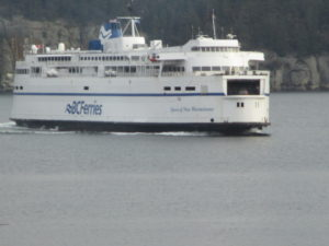 Queen of New Westminster--our ferry